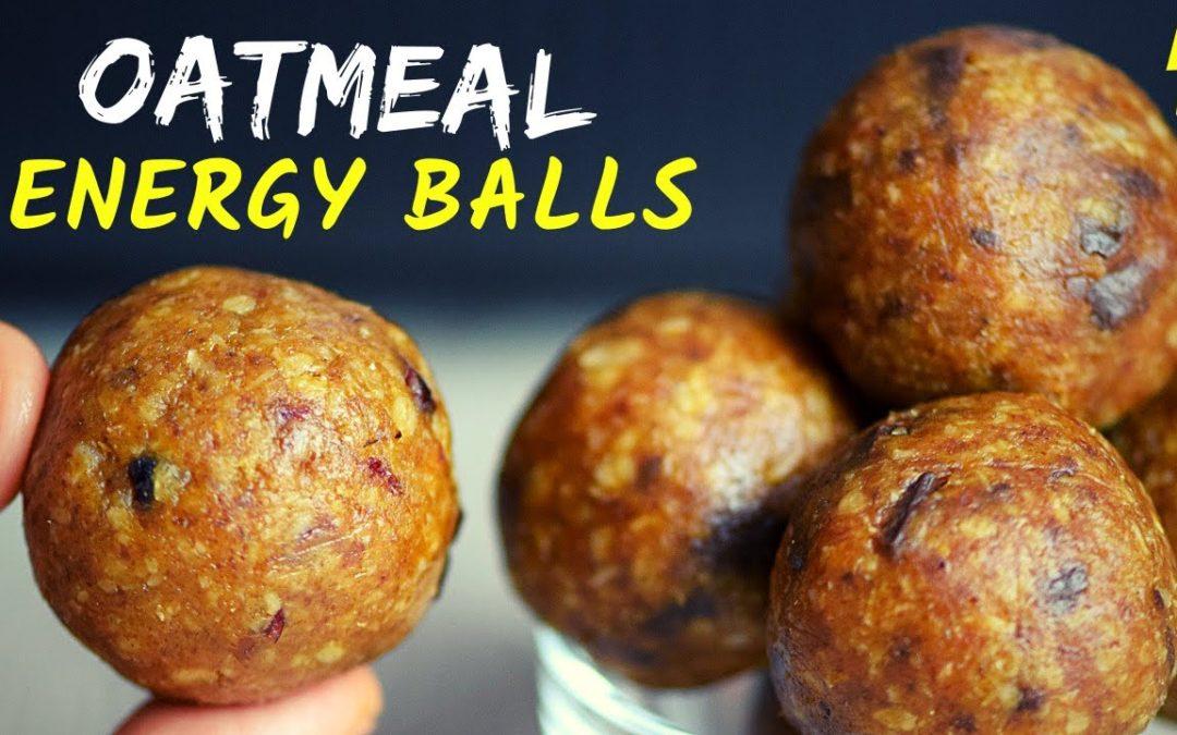 NO-BAKE OATMEAL ENERGY BALLS ~ How To Cook Smarter